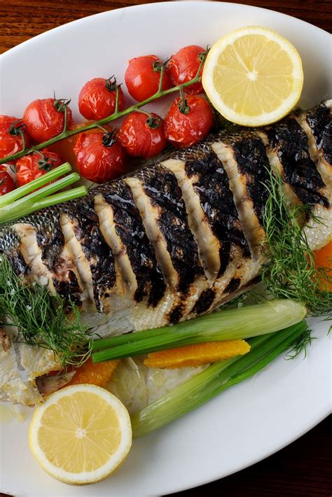 Grilled Sea Bass Recipe With Fennel & Dill - Great British