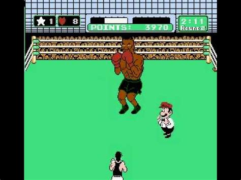 Mike Tyson's Punch Out!! Mike Tyson Round 2 TKO - NES