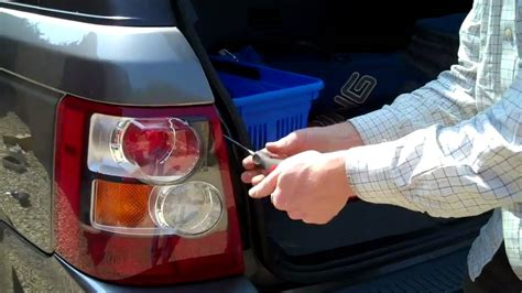 How to Remove Rear Lights on Range Rover Sport - YouTube