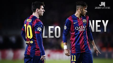 Lionel Messi & Neymar Jr Pure Magic 2014/2015 HD - YouTube