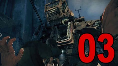 Wolfenstein: The New Order - Part 3 - Scary Robo Dog (Let