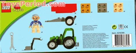 LEGO 4687 Tractor Trailer Set Parts Inventory and