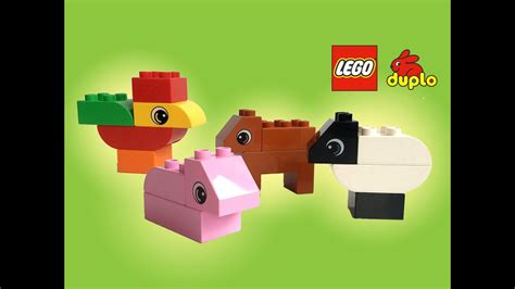 Lego Duplo Read and Build Busy Farm 6759 - Unboxing Demo