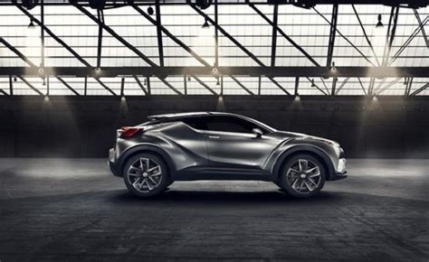 Toyota's C-HR Concept Will Become New Hybrid SUV