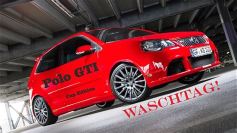 """VW Polo GTI """"Cup Edition"""" Waschtag - YouTube"""