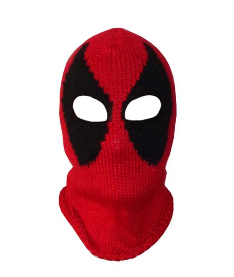 Cool Deadpool Mask That's Great For Halloween Or Any Other