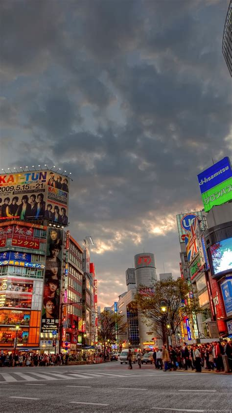 4K Wallpapers City Japan, Sunset, Shibuya 5616x3744
