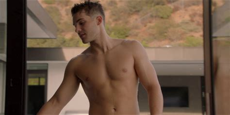 Cody Christian as Asher shirtless in All American 1×08