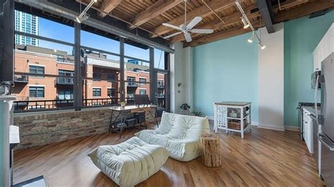Quaint, simple Fulton River District loft can be had for