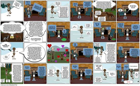 'Call of the Wild' Book Report Storyboard by peyton1210