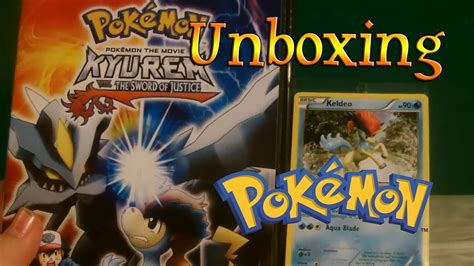 Pokemon: Kyurem VS The Swords of Justice DVD Unboxing