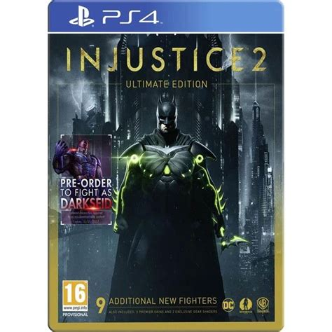 Injustice 2 Ultimate Edition (Steelbook) Ár 8990 Ft (PS4