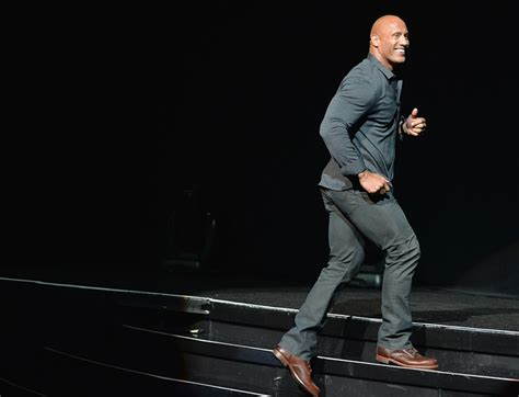 Dwayne The Rock Johnson at Cinemacon for Hercules and