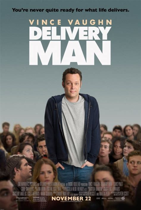 Delivery Man Movie Poster (#1 of 6) - IMP Awards