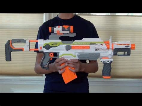 [REVIEW] Nerf Modulus ECS 10 Review and Firing Test - YouTube