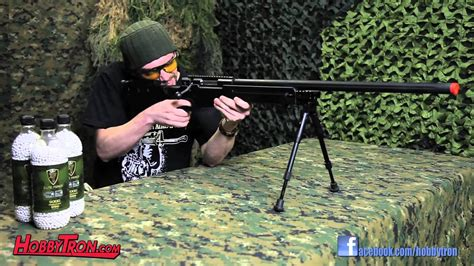 Spring WELL MB08B L96 Bolt Action Sniper Rifle - Review