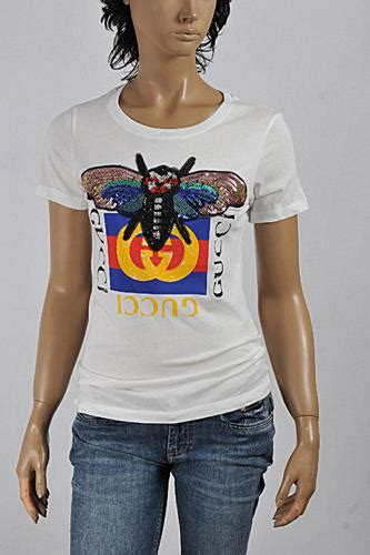Womens Designer Clothes | GUCCI Women's Bee embroidered