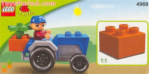 LEGO 4969 Tractor Fun Set Parts Inventory and Instructions