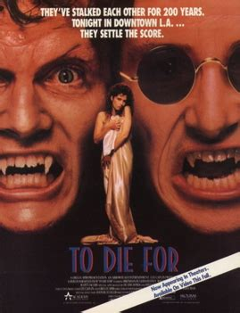 To Die For (1989 film) - Wikipedia