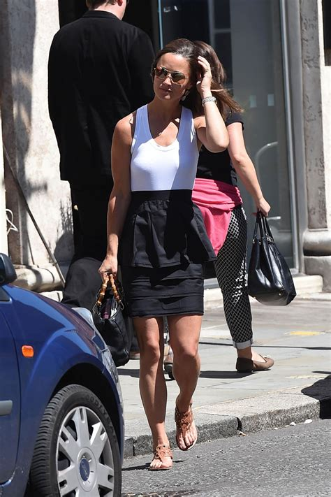Pippa Middleton Street Style - Chelsea candids, July 2014