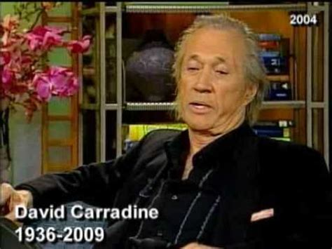 """Kung Fu"" Star David Carradine Found Dead - YouTube"