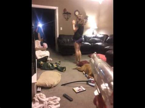 Girl gets shot with airsoft gun - YouTube