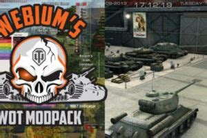 WoT by Hjundaj – World of Tanks ModPage