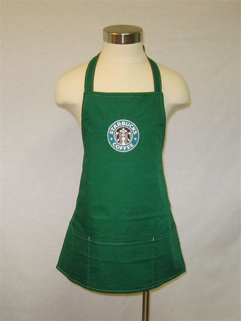 Minature Starbucks Apron - Reversible | He'll need to know