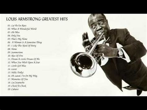Louis Armstrong Greatest Hist || Louis Armstrong