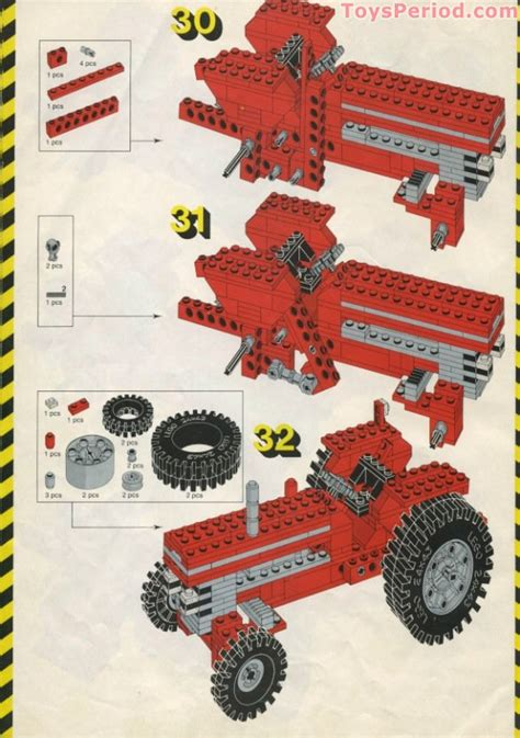 LEGO 952 Farm Tractor Set Parts Inventory and Instructions