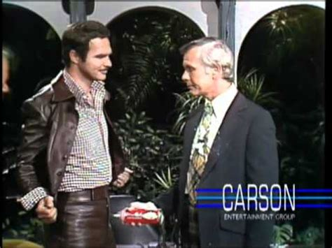 Burt Reynolds on the Tonight Show starring Johnny Carson