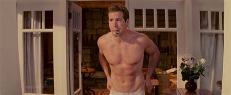 Ryan Reynolds as Andrew Paxton shirtless/naked in The