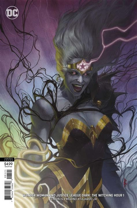 Preview of Wonder Woman & Justice League Dark: The