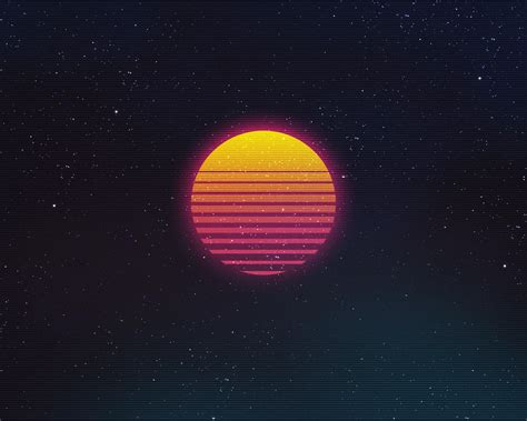 Rad Pack 80's-Themed HD Wallpapers - Nate Wren - Graphic