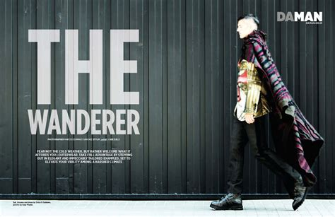 Fashion Spread The Wanderer | DA MAN Magazine