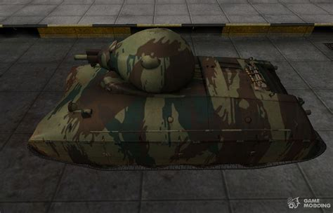 French AMX 40 new skin for for World Of Tanks